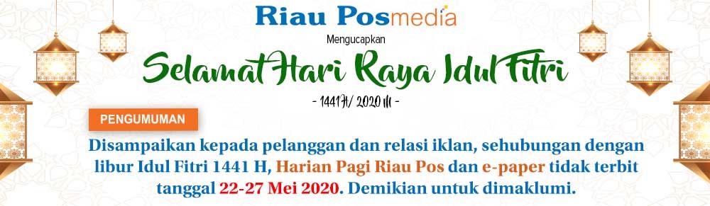 Selamat Idul Fitri 1441 H - Riau Pos